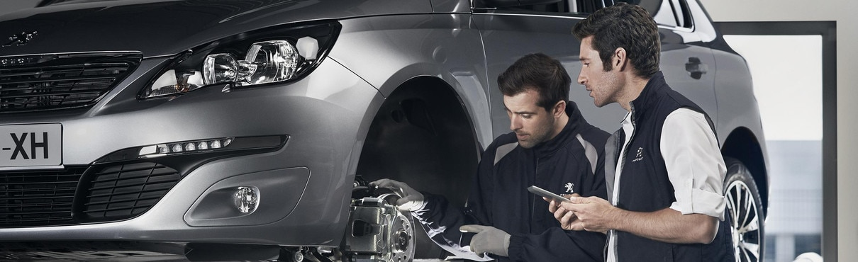 Årlig Peugeot-vedlikehold