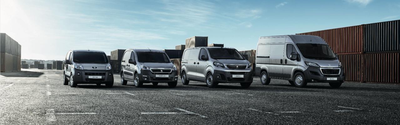 Rangebilde Varebiler Peugeot