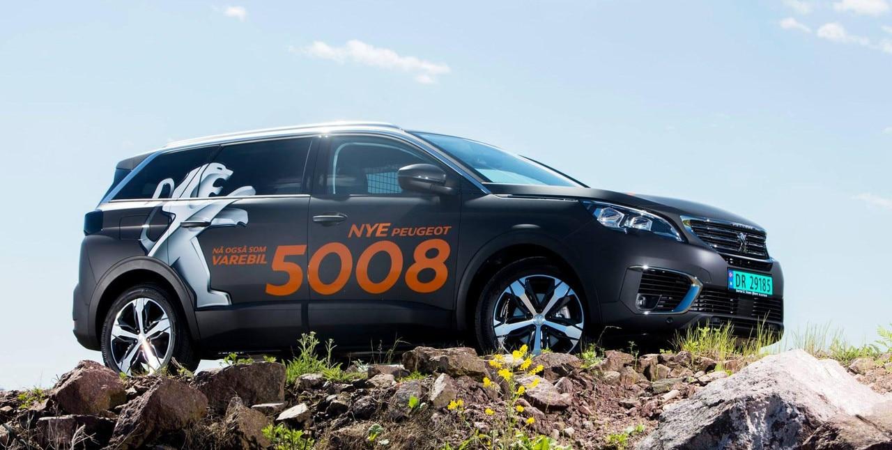 Peugeot 5008 varebil