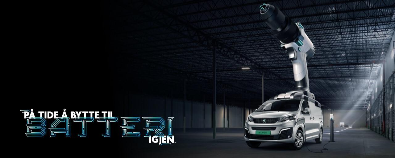 Peugeot e-Expert banner