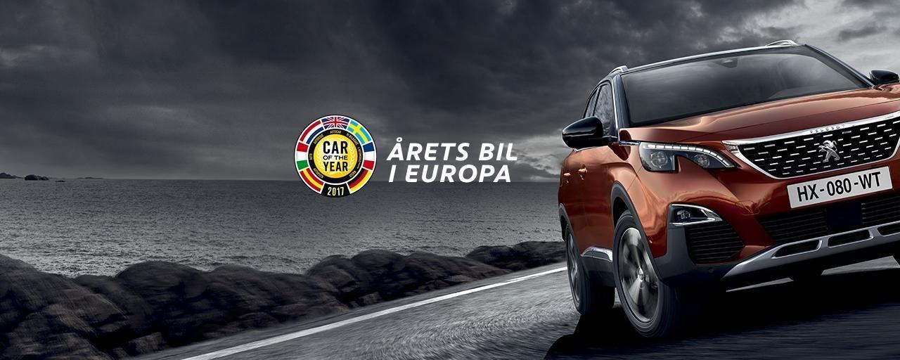 ÅRETA BIL I EUROPA 3008 SUV