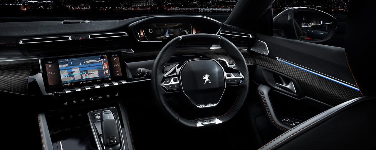 Nye peugeot 508 en premium og radikal sedan for Interior peugeot 508