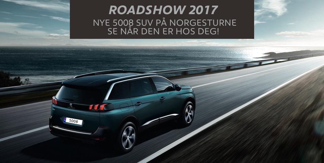 Roadshow 2017 - 5008 suv