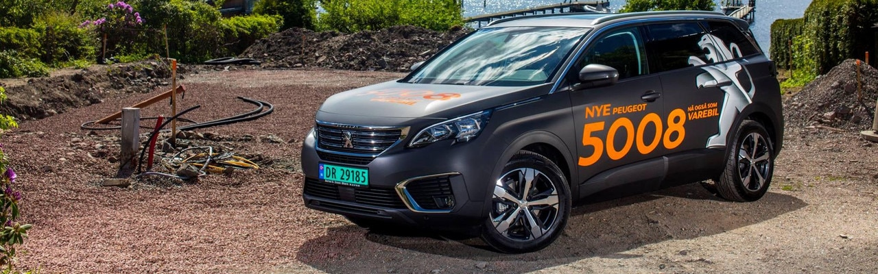 Peugeot 5008 Varebil - teknologi