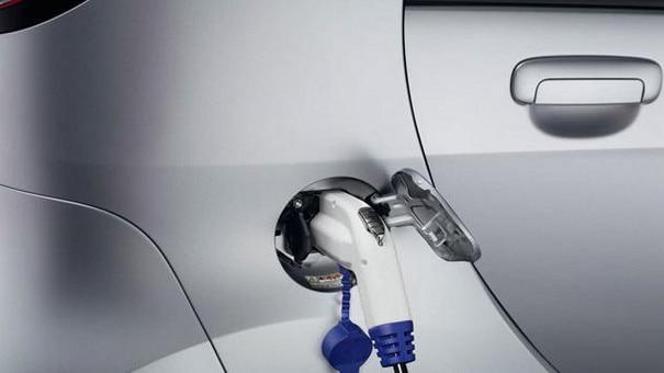 Ladeteknologi på en Peugeot