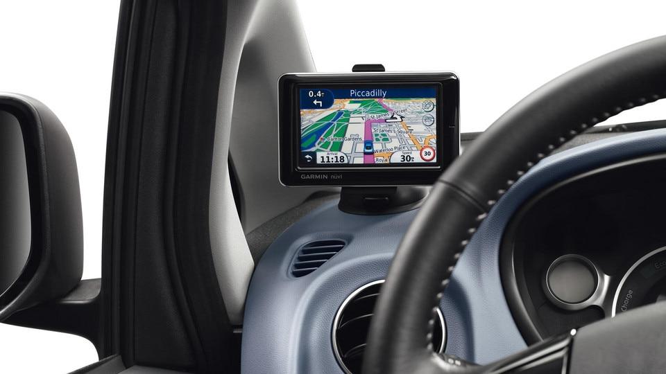 NAV-systemet i en Peugeot iOn