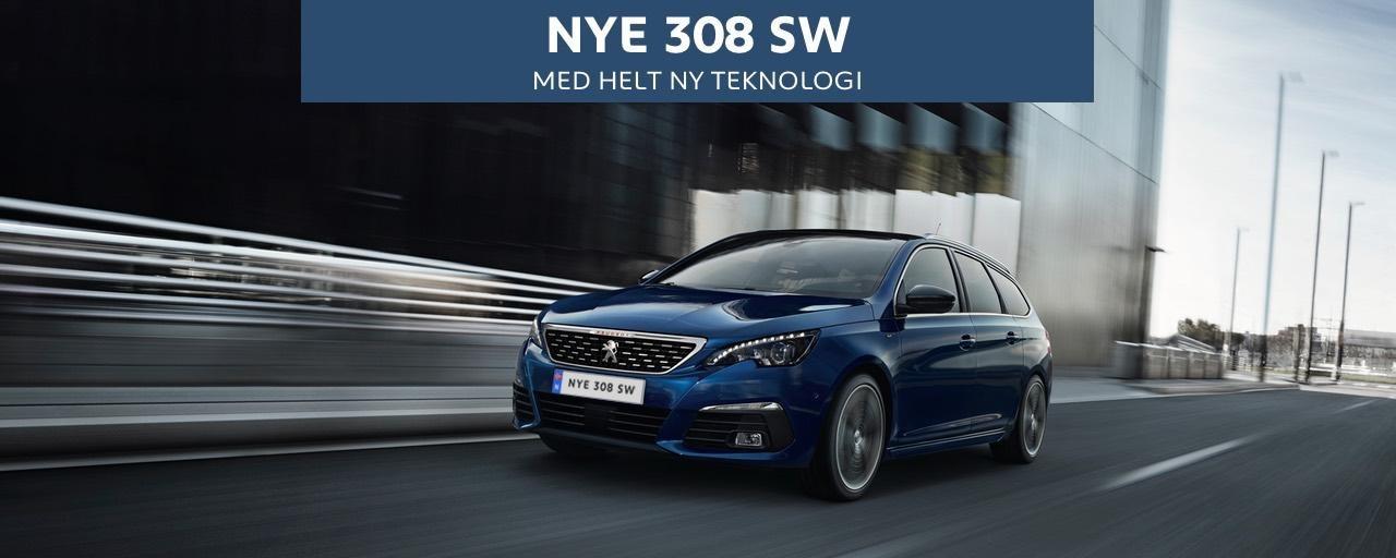 Nye Peugeot 308 Stasjonsvogn - ny teknologi