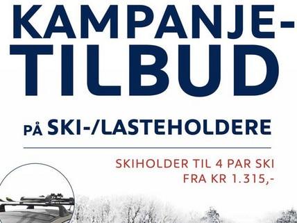 banner - kampanje skiholdere
