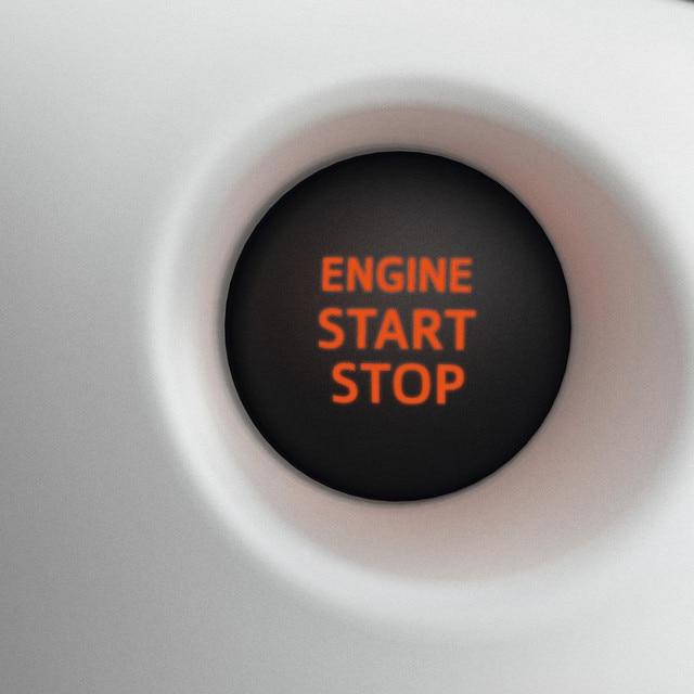 Start & stop-knappen i Peugeot 108