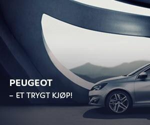 Peugeot - Et trygt kjøp