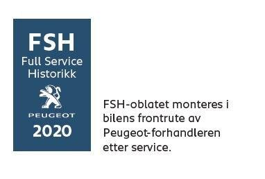 Full Service Historikk Peugeot