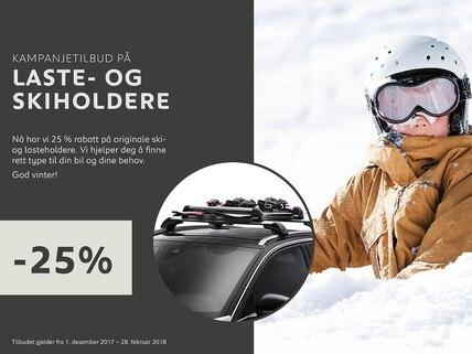 Ski- og lasteholdere fra Peugeot