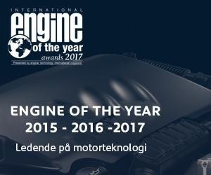 Engine of the year 2015, 2016 og 2017