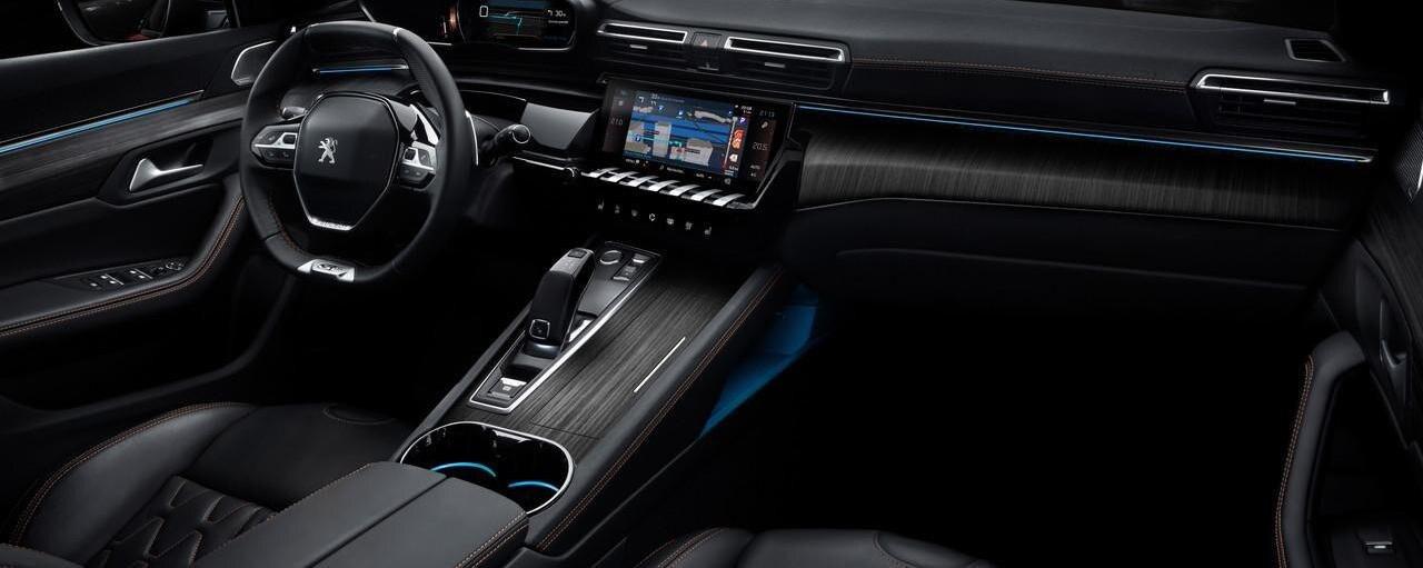 Kupeen til nye Peugeot 508
